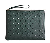 Editors_pouch_forest_green_stud_pre_fall_2013_SMALL